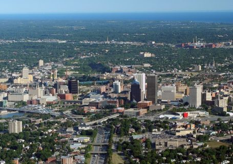 Rochester, NY Aerial Aug 17 2007